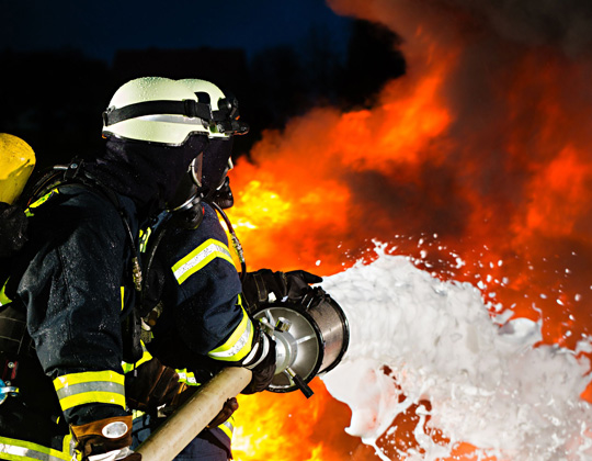 Lutte contre le feu et l'incendie